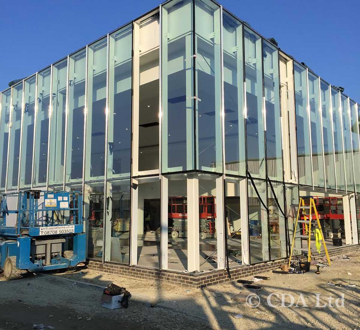 Car Showroom Construction Companies