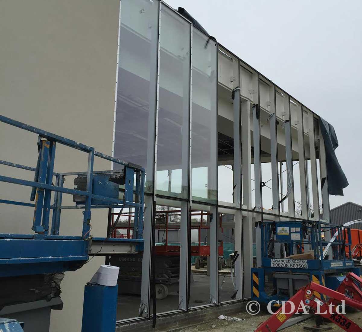 Vehicle Showroom Construction Lipscombe