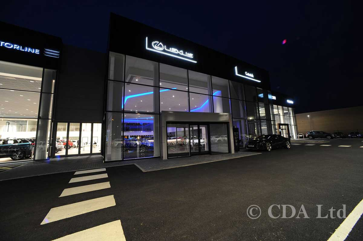 Commercial Double Glazing for Car Showrooms