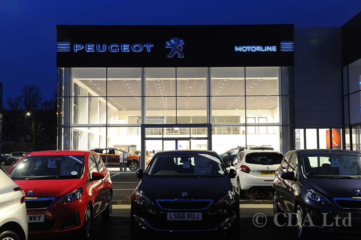 Crawley Car Showroom Glazing