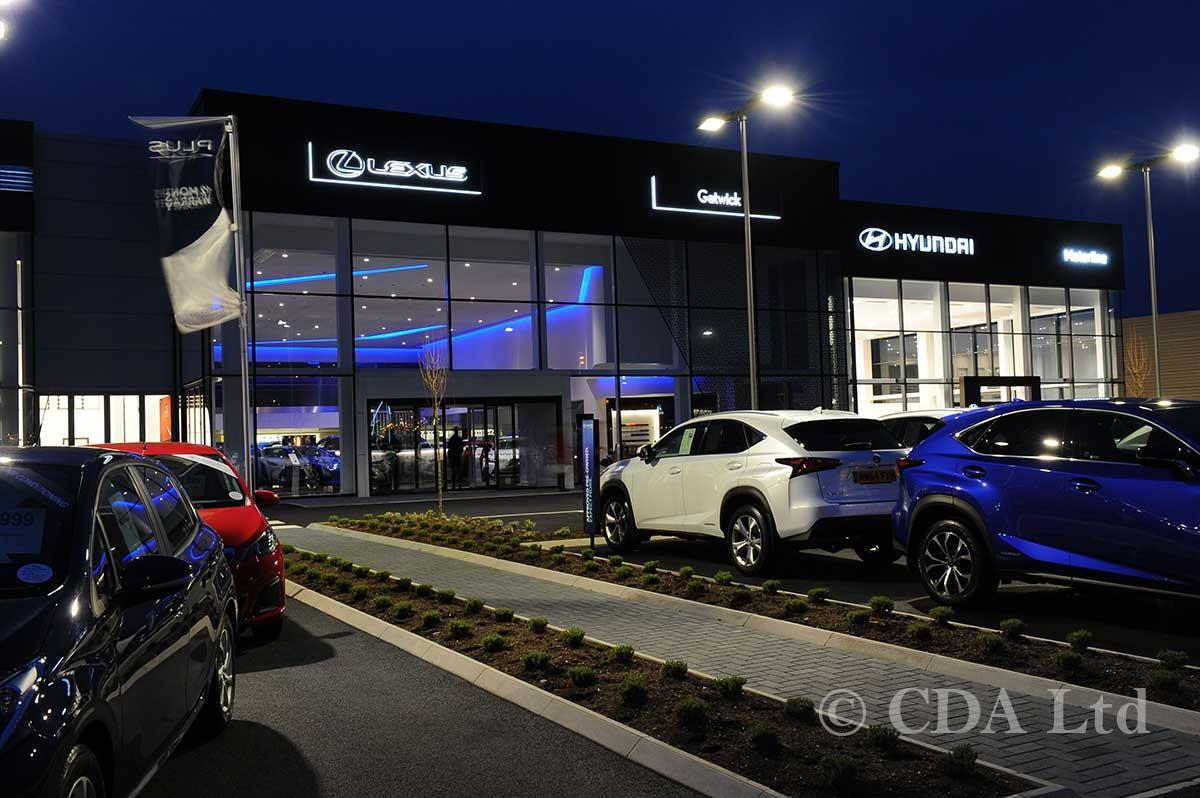 Autombile Showroom Build - Lexus