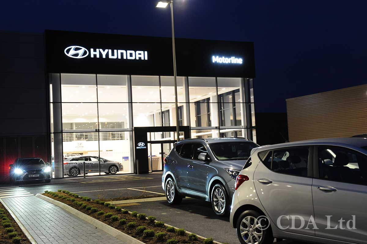 Automatic Doors for Car Showrooms