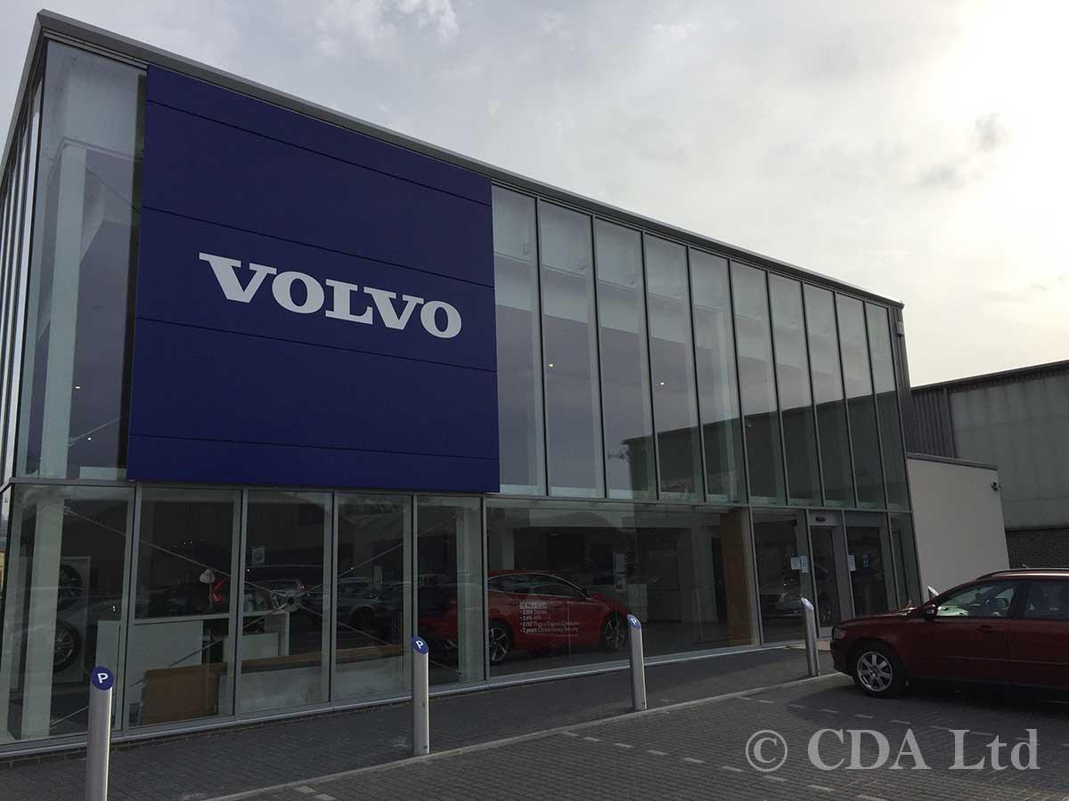 Volvo Showroom Builders