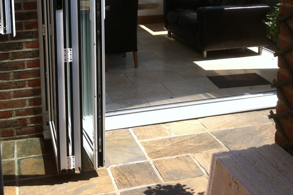 Bi-Folding Doors fitted Winchester