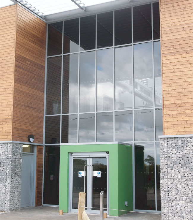 Commercial Aluminium Windows in Southampton