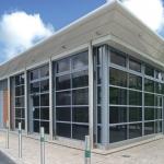 Commercial Aluminium Walling Southampton
