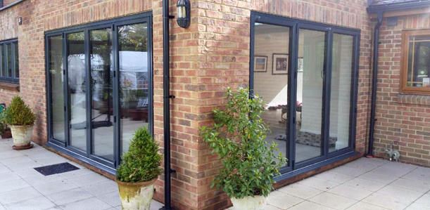 aluminium-bi-fold-doors Eastleigh