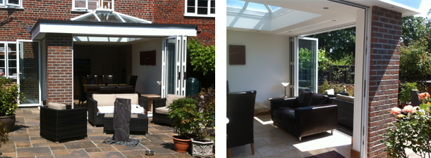 Hampshire Bi-Fold Doors