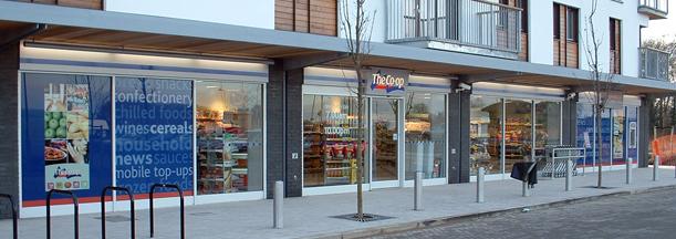 Aluminium Shopfronts Southampton