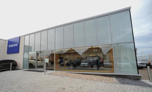 Aluminium Curtain Walling, Southampton