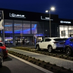 Aluminium Curtain Walling for Car Showroom, Crawley