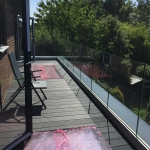 Aluminium Glass Balustrade Installation, Waterlooville