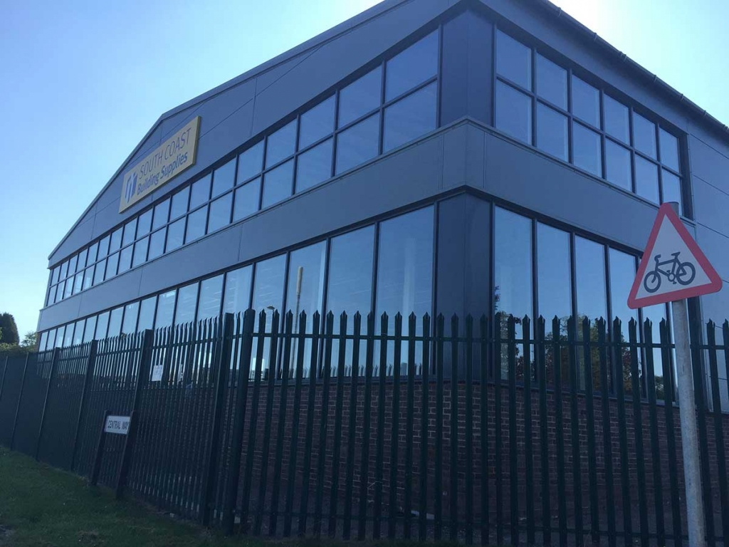 Ribbon Windows for Car Showrooms, Southampton