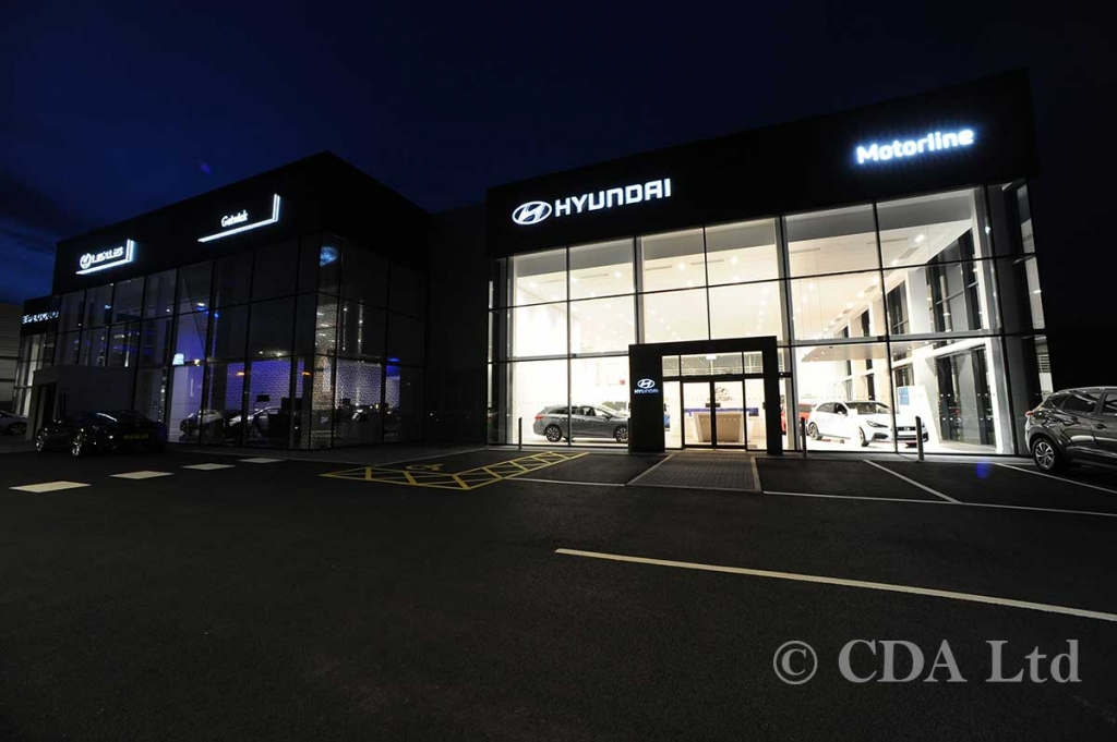 Hyundai Car Showroom Designers, Crawley